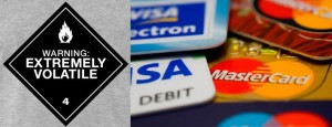 Volatile Mastercard Visa