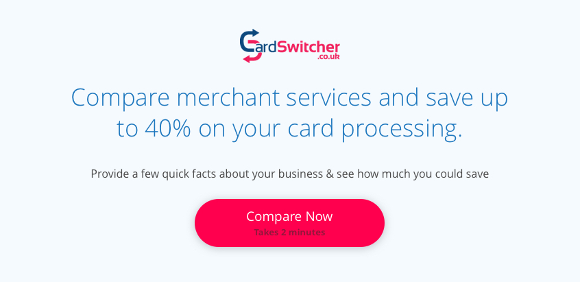 Compare Merchant Services and Save up to 40% on Your Payment Processing Fees