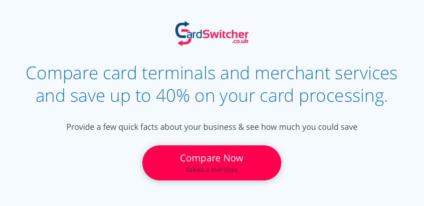 Compare Merchant Services and Save up to 40%