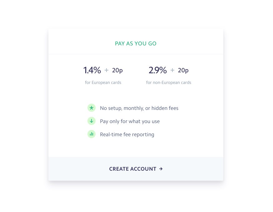 Stripe Payments Fees