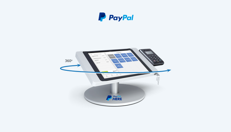 PayPal Here Bouncepad