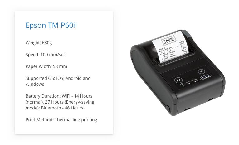 Epson TM-P60ii