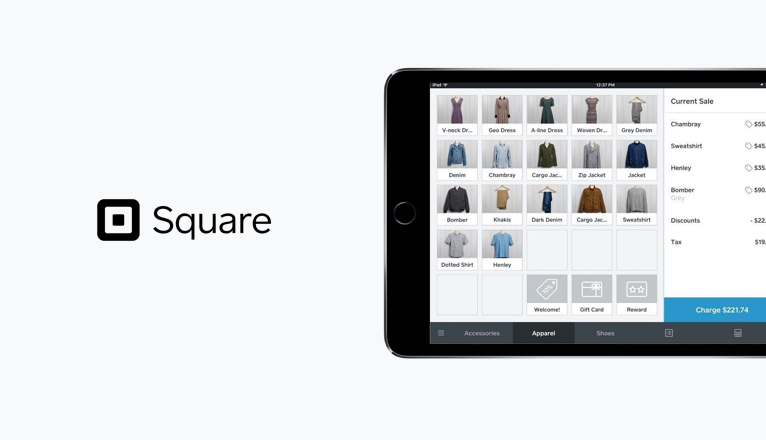Square POS Screen