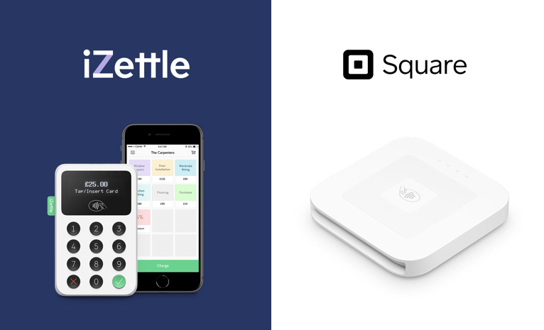 iZettle vs Square: Which one should I use? (Updated 2020)