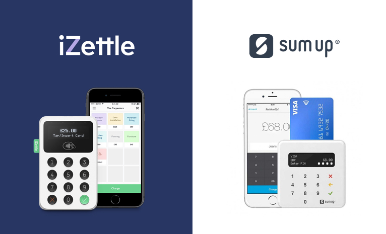 SumUp vs iZettle: Which one should I use? (Updated 2020)