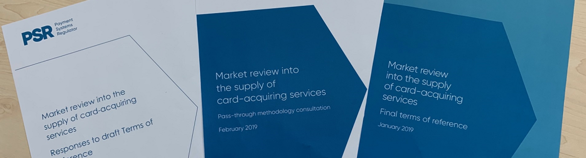 Payment System Regulator interim findings on the card acquiring market