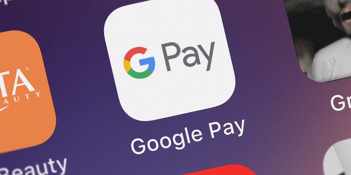 google pay app tile on phone interface
