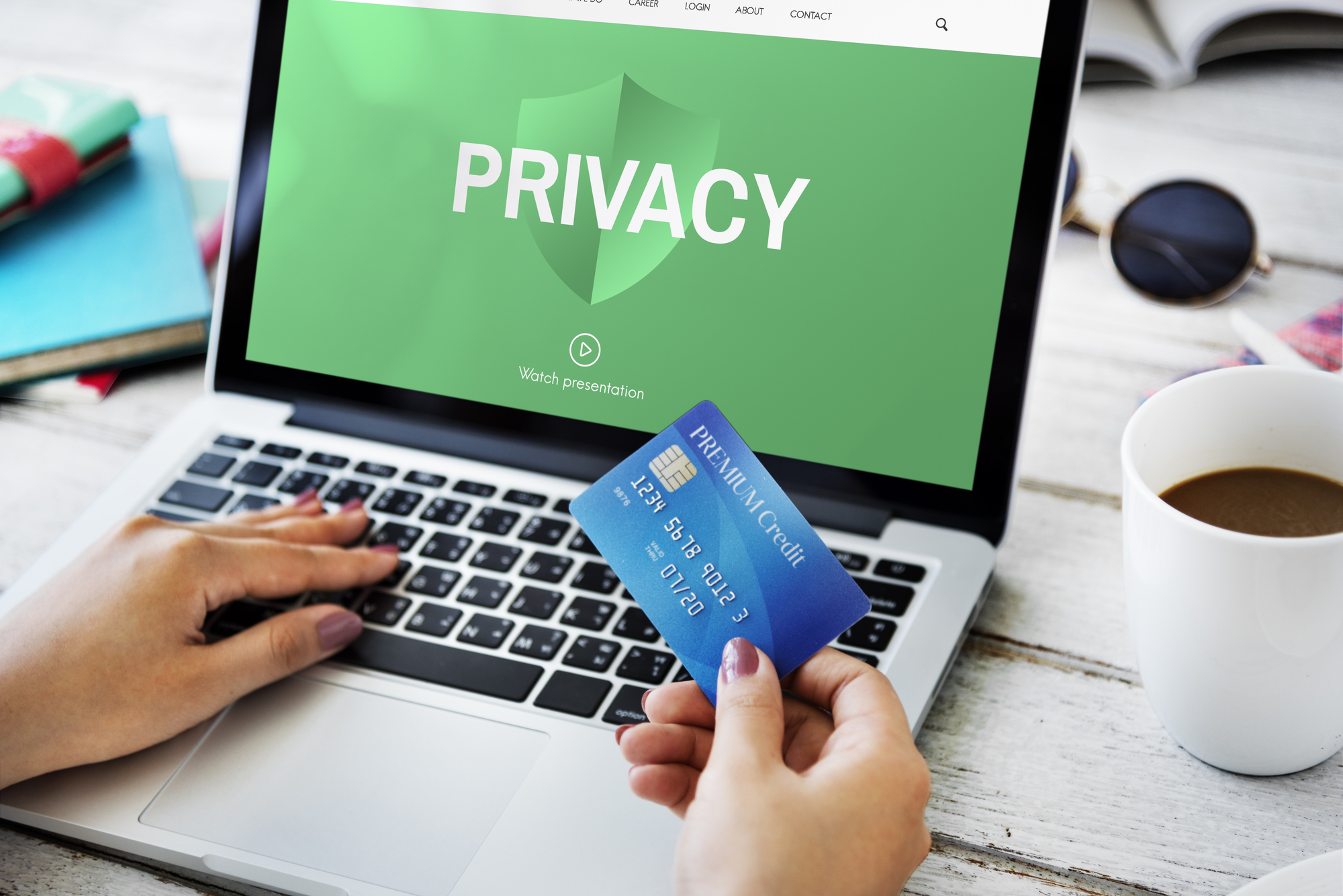 online card payment with security